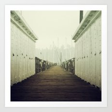 To the end. Art Print