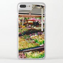 Flower shop in Munich #2 Clear iPhone Case