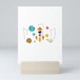 Outer Space Mini Art Print
