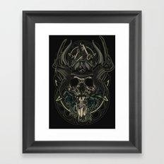 Man From Nowhere Framed Art Print