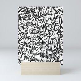 Mixed Emotions Mini Art Print