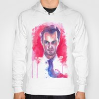 moriarty Hoodies featuring Jim Moriarty by Claudia Marianno