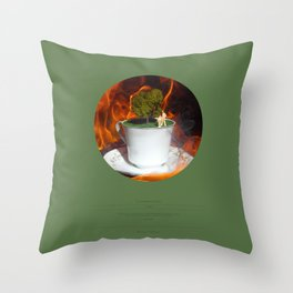 The Garden (This Burning World 3) Throw Pillow