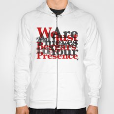 WE ARE ALL JUST THIEVES & BEGGARS IN YOUR (Matthew 15:27) Hoody