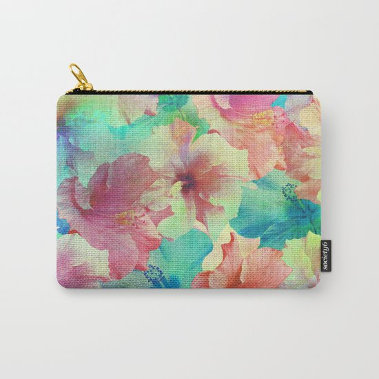 Hibiscus Dream #2 Carry-All Pouch