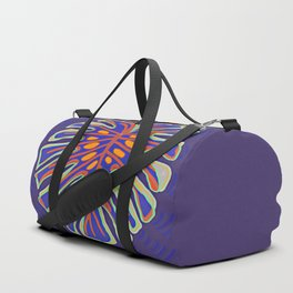 Monstera Flying to Summer Duffle Bag