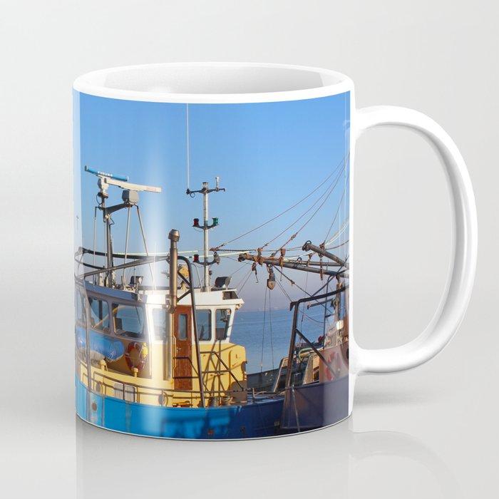 Trawlers at Moville Coffee Mug