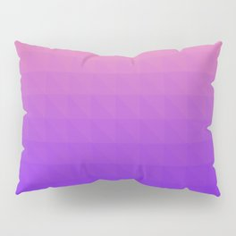 Pink and Purple Ombre - Flipped Pillow Sham
