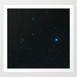 "Hubble Space Telescope - Hubble captures a ""five-star"" rated gravitational lens (2006) Art Print"