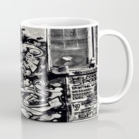hip hop Mugs featuring Hip Hop by J. Unger Photography