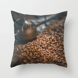 Roasted Coffee 4 Throw Pillow
