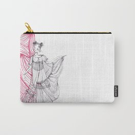 It's a Fashion Illustration Carry-All Pouch