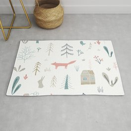 Into the Wild Pastel Rug