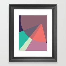 Cacho Shapes LXXXVII Framed Art Print