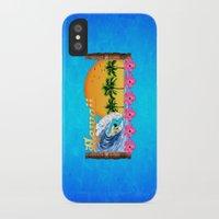 hawaiian iPhone & iPod Cases featuring Hawaiian Surfing by MacDonald Creative Studios