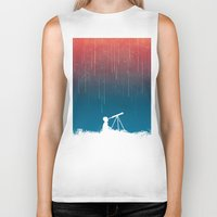budi satria kwan Biker Tanks featuring Meteor Rain (light version) by Picomodi