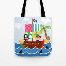 PIRATE SHIP (AQUATIC VEHICLES) Tote Bag