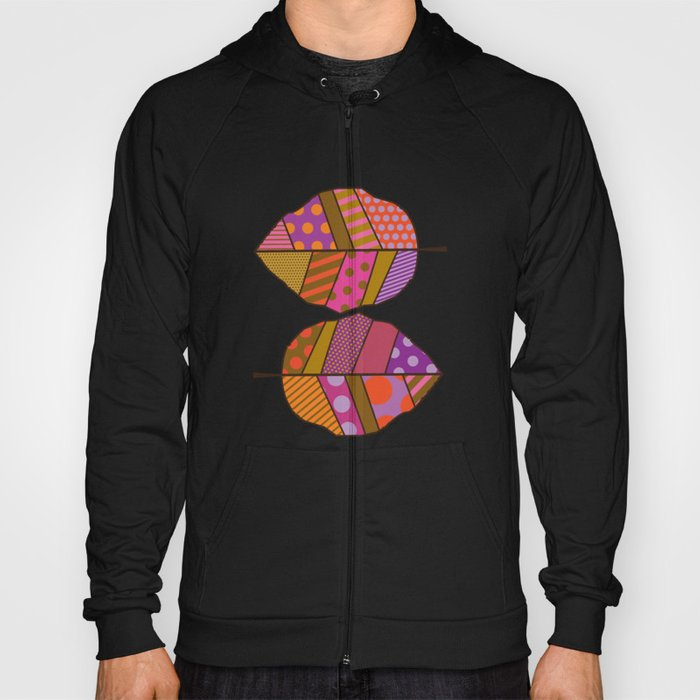 Autumn Leaves (Patterned Leaf Patchwork) Hoody