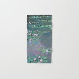 Water Lilies Monet 1905 Hand & Bath Towel