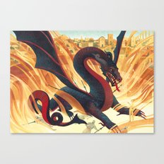 The Pit Canvas Print