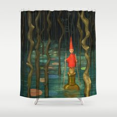 Small Journeys Shower Curtain