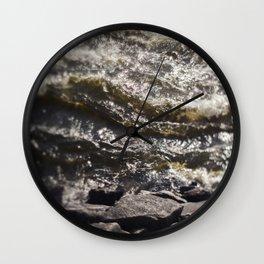 Torrent river Wall Clock