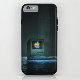 BLUE SCREEN (everyday 10.10.17) iPhone Case