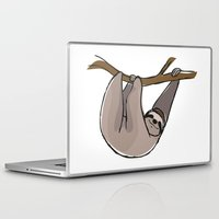 sloth Laptop & iPad Skins featuring Sloth by Nemki