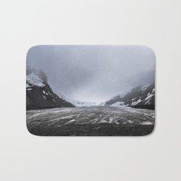 Athabasca glacier Bath Mat