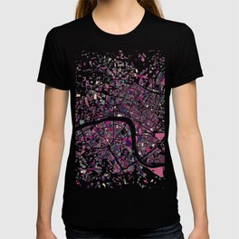London Mosaic Map #5 T-shirt