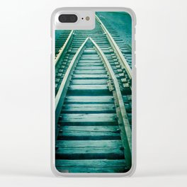 track #1 Clear iPhone Case