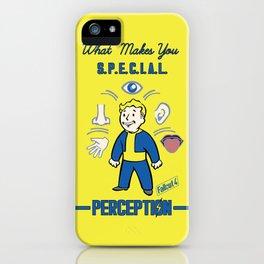 Perception S.P.E.C.I.A.L. Fallout 4 iPhone Case