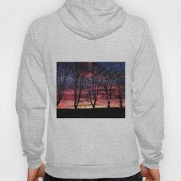 A Winter New England Sunset Hoody
