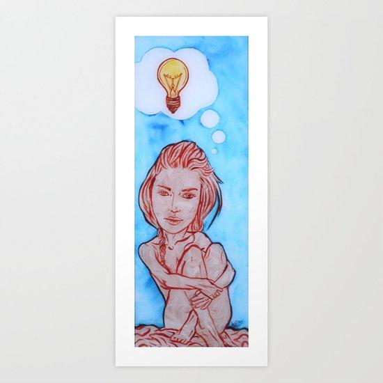 Idea Art Print
