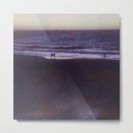 Baker Beach in Blue, San Francisco Metal Print