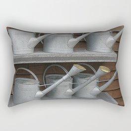 Galvanized Watering Cans Rectangular Pillow