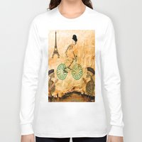 "tour de france Long Sleeve T-shirts featuring Monsieur Bone and "" le  Tour de France "" by Joe Ganech"