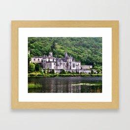 Kylemore Abbey, Galway, Ireland Framed Art Print
