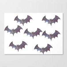 Space bats Canvas Print