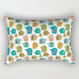 Pattern Project / Dogs Rectangular Pillow