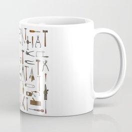 vintage tools collage Coffee Mug