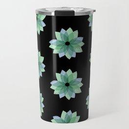 Geo Spring Flowers 04 Travel Mug