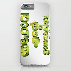 Psalm 23:1 (3D-Green&Orange) Slim Case iPhone 6s