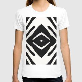 Black Ink Medallion by Juul T-shirt
