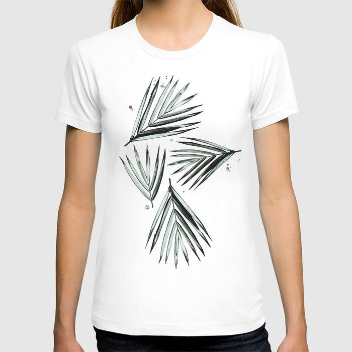 Palm Leaves Pattern #2 T-shirt