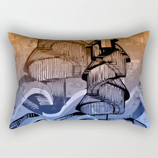 Atlante 09-06-16 / AMONG WAVES Rectangular Pillow