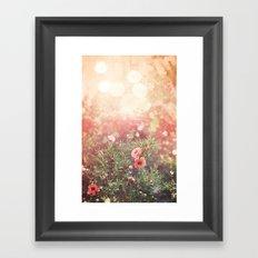 Enchanted Spiderweb Framed Art Print
