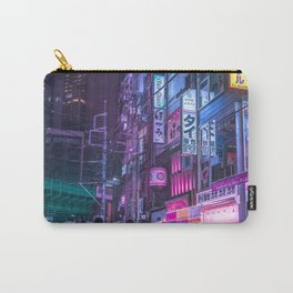 Cyberpunk Neo Tokyo Carry-All Pouch
