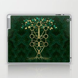 Kabbalah The Tree of Life - Etz Hayim Laptop & iPad Skin