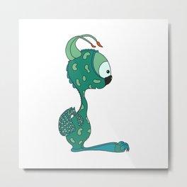 cute dragon Metal Print